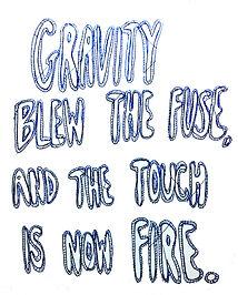 gravity blew drawing