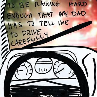 raining drives