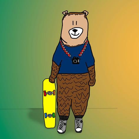 sk8r bear
