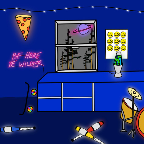 Be Here. Be Wilder