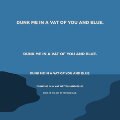 YOU AND BLUE