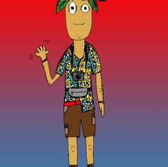 palm head tourist