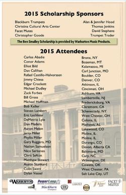 2015 Sponsor Attendee