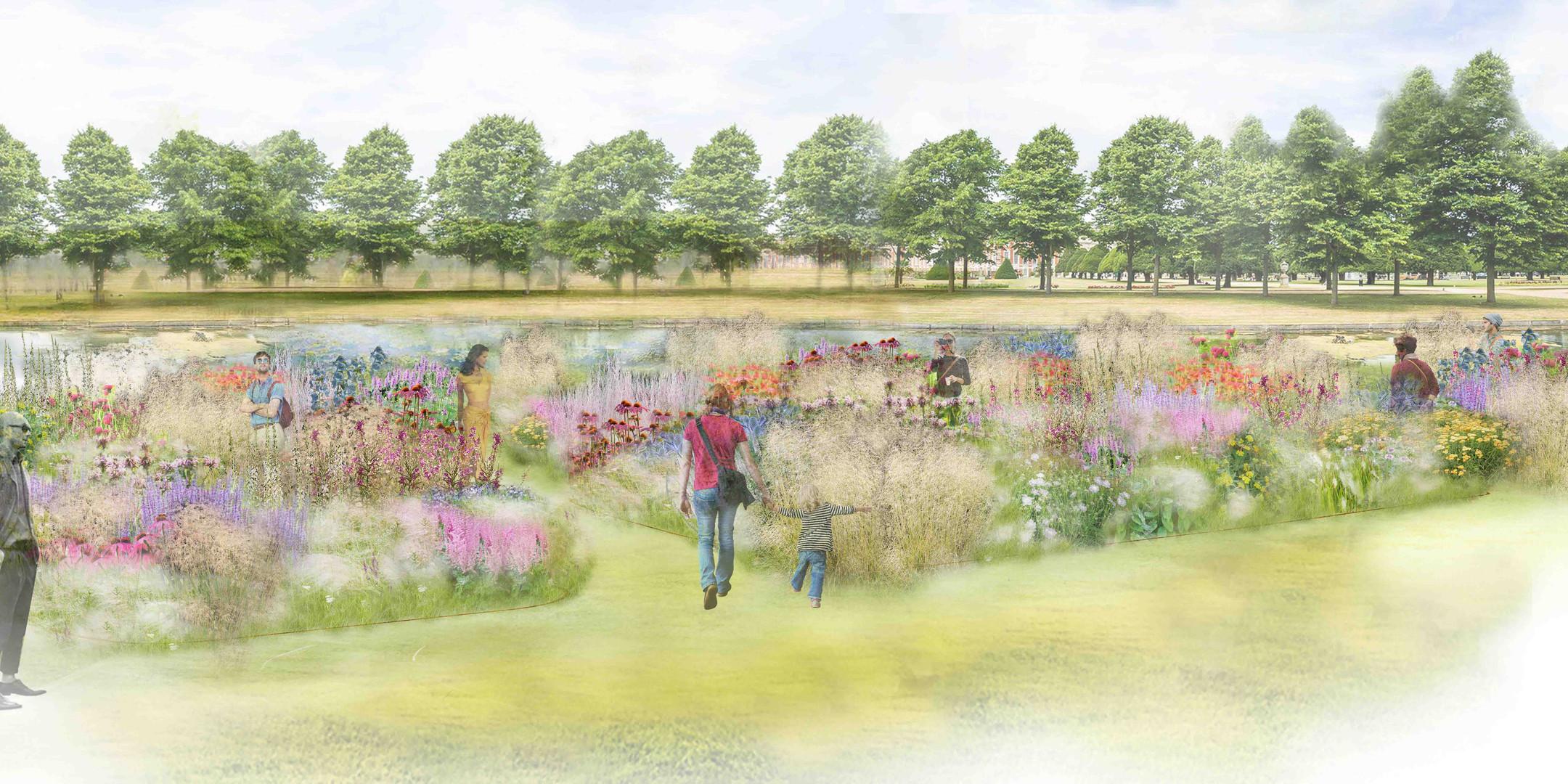 Piet Oudolf Garden Hampton Court 2018