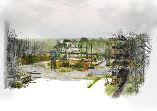 Frankenstein's Nature Garden