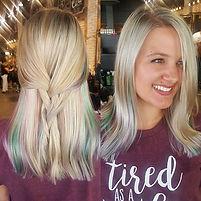 Pastel and #khaleesi loveliness💖__#hair
