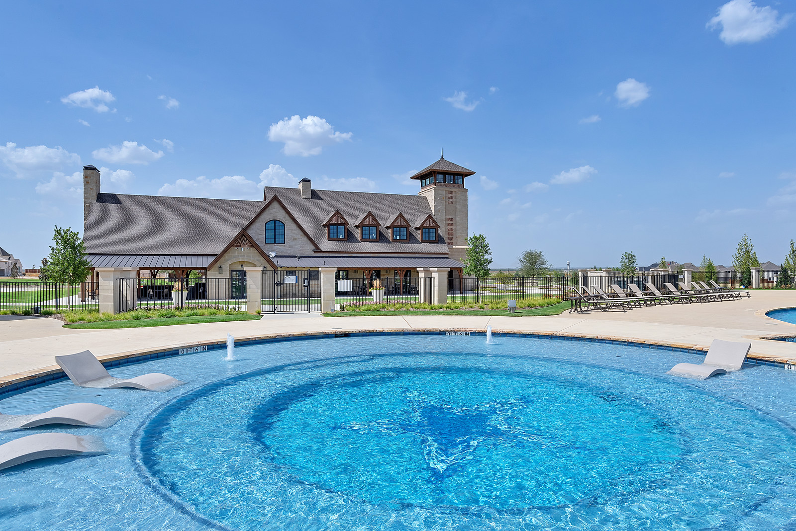 Star Trail Commercial Pool Prosper Tx By Gold Medal Pools