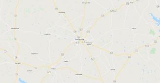 Stephenville TX Map