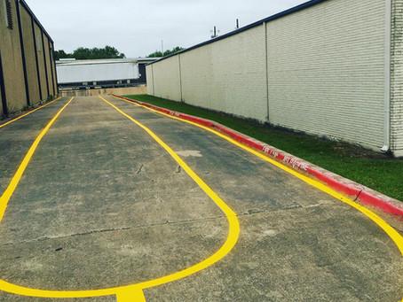 Don't DIY Parking Lot Striping