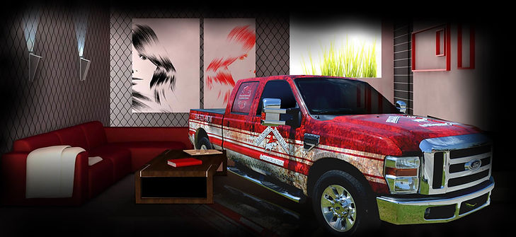 Truck Wraps Texarkana TX by Wrap Garage