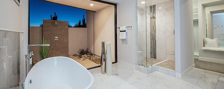 Bathroom Remodel Del Piso Tile & Stone