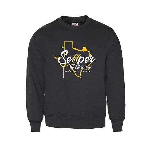 Texas Logo Crew Neck Sweater