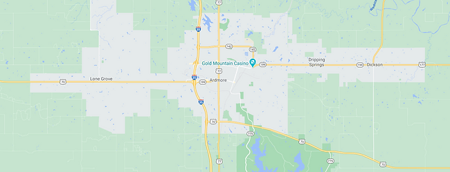 Ardmore OK Google Map.png