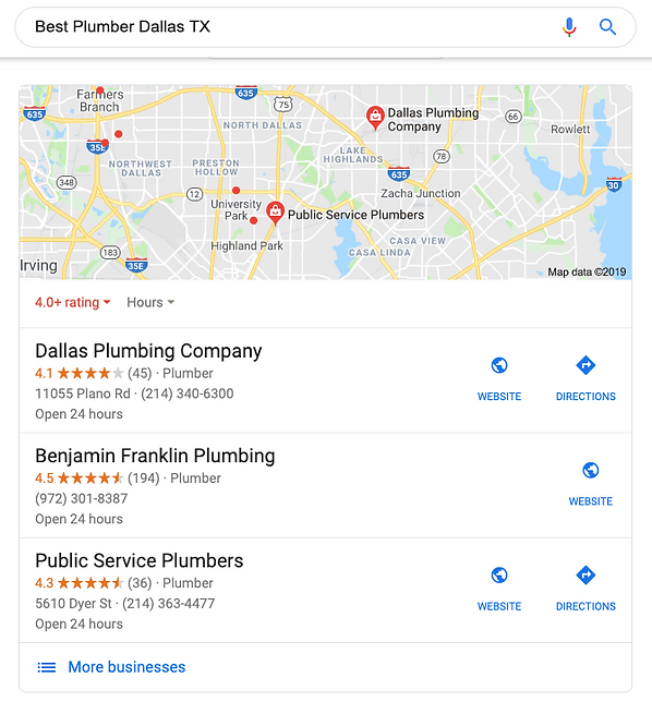 Best Plumber Dallas TX - Map.png