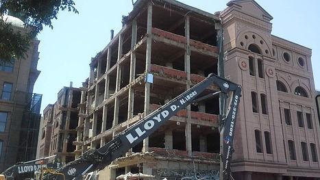 Tarrant County Courthouse Demolition Lloyd Nabors