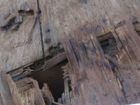 Are rotted wood and/or failed flashing the culprits?