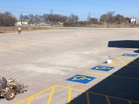 The Professional Guide To Parking Lot Striping
