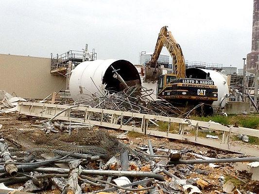 Lloyd Nabors Underground Storage Tank Removal