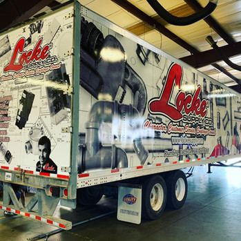 Custom Semi-Truck Wraps