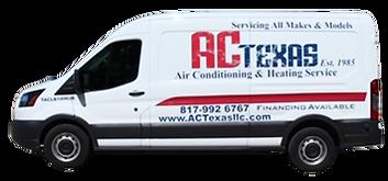AC Texas Van | Residential HVAC Arlington TX