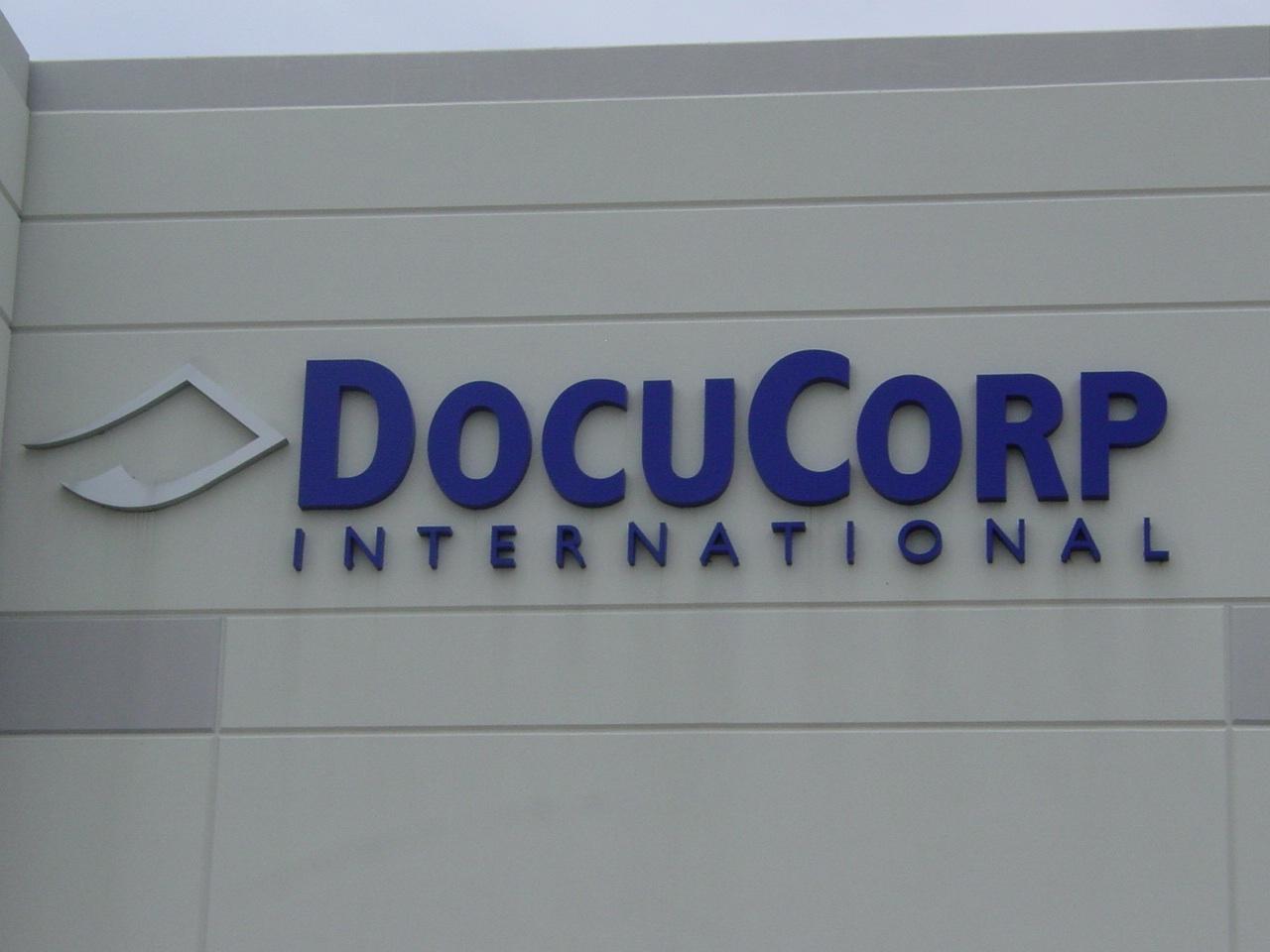 docucorp reverse channel letters non-lit