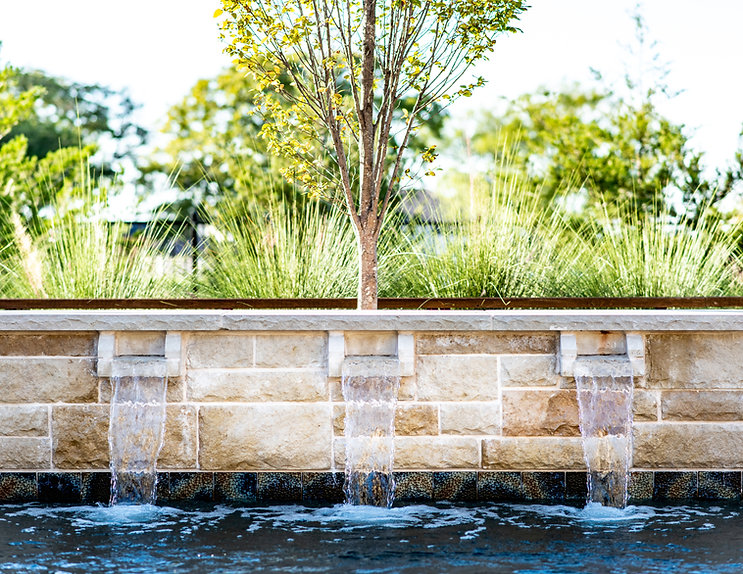 Water Features by Hopkins Custom Pools