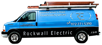 Electrician Rockwall TX - Rockwall Electric Van