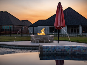 Enhance Your Swimming Pool With a Custom Fire Feature