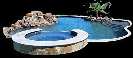Custom Design Pool by Hopkins Custom Pools