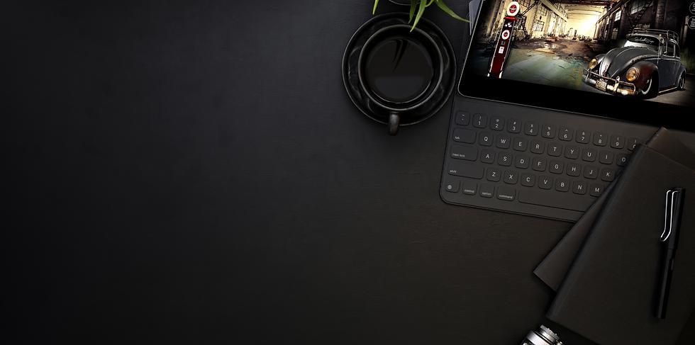 The SEO Contractor Website Tablet