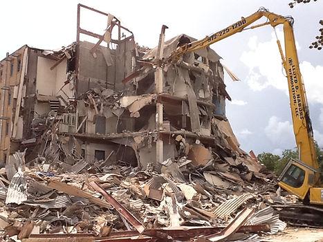 Nicholas State - Beauregard Hall Demolition