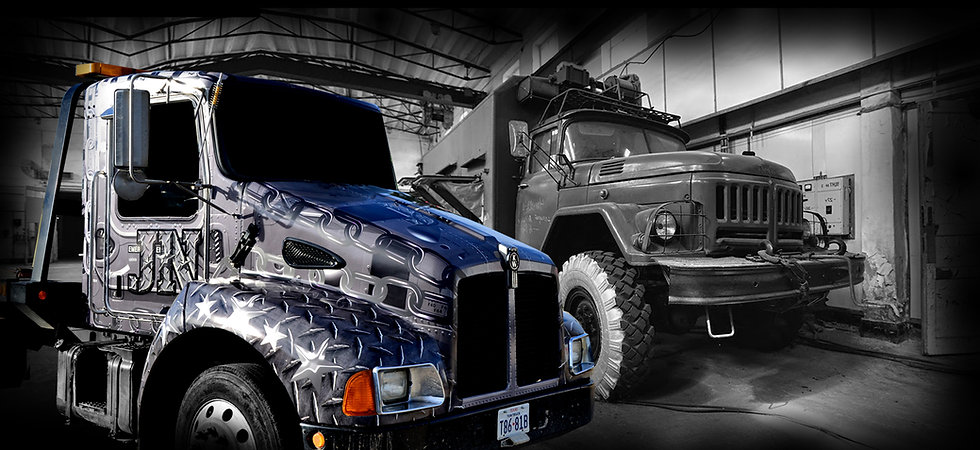 Wrapped Semi Trucks by WRAP GARAGE