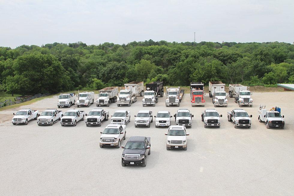 Dallas TX Demolition Company Fleet Equipment Lloyd Nabors