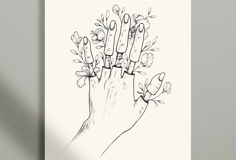 Flowers in our veins