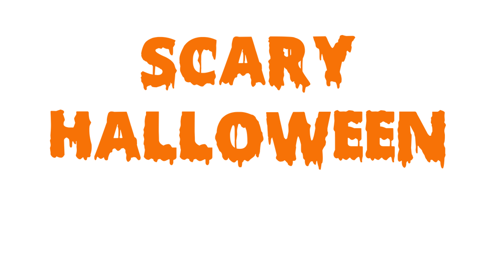 Customised Halloween Font