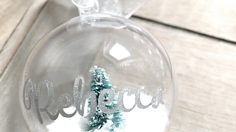 Personalised Filled Baubles