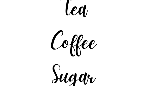 Tea, Coffee, Sugar Bundle