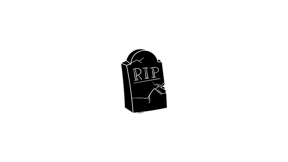 Grave Yard Decal
