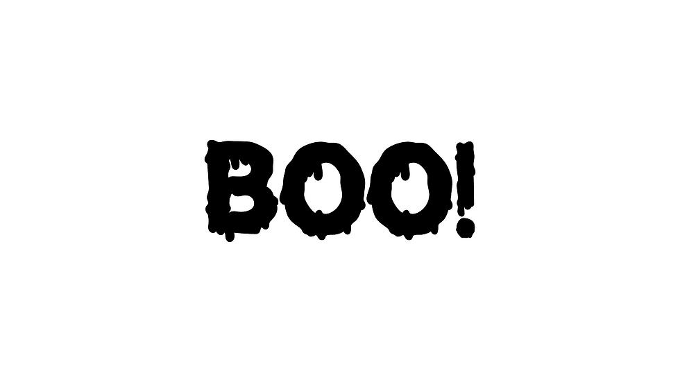 Boo Decal