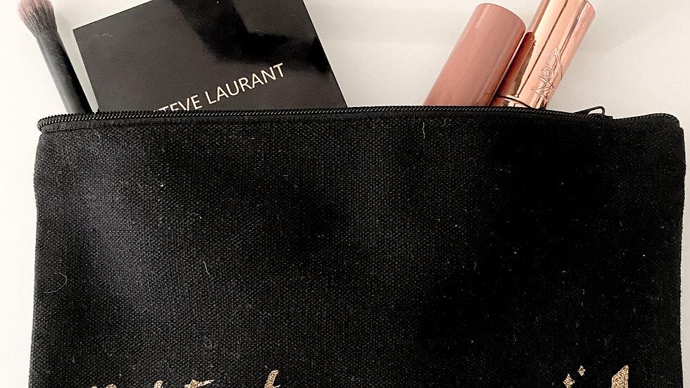 But First, Makeup Cosmetic Bag