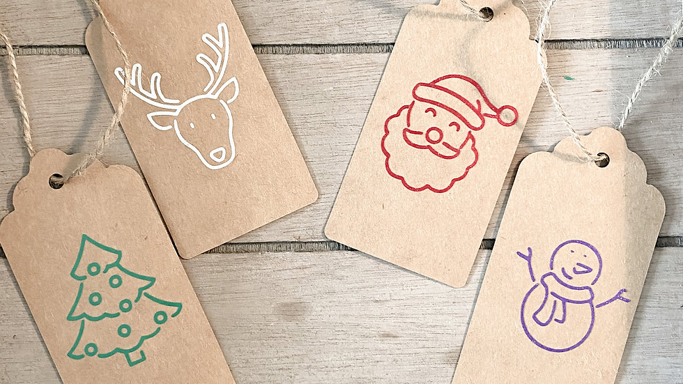 Christmas Gift Tag (Pack of ten)