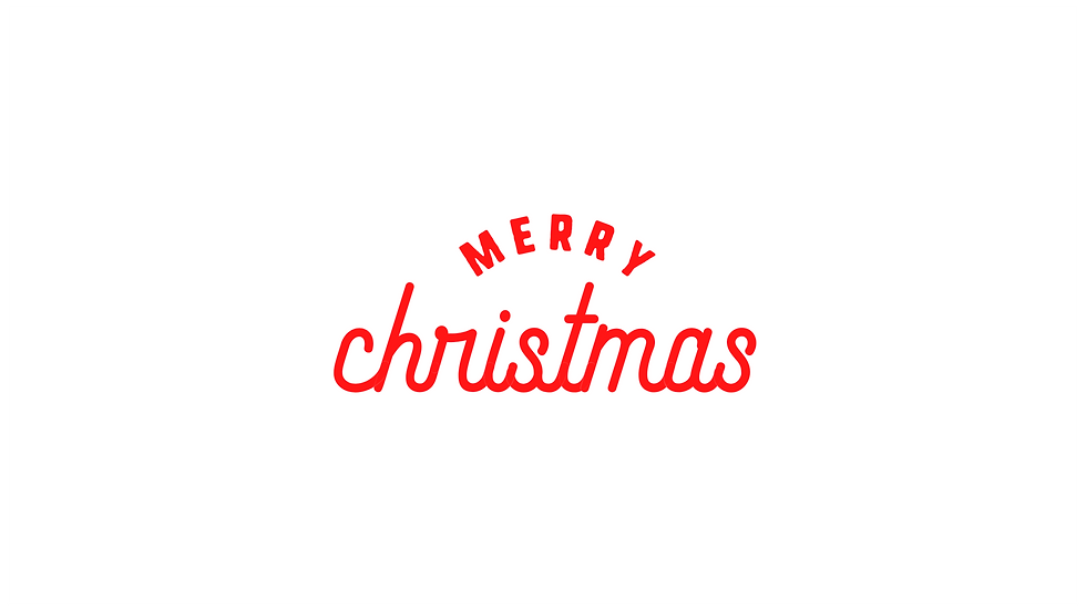 Merry Christmas Sign Decal