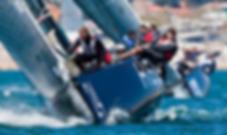Sailing team, teamwork