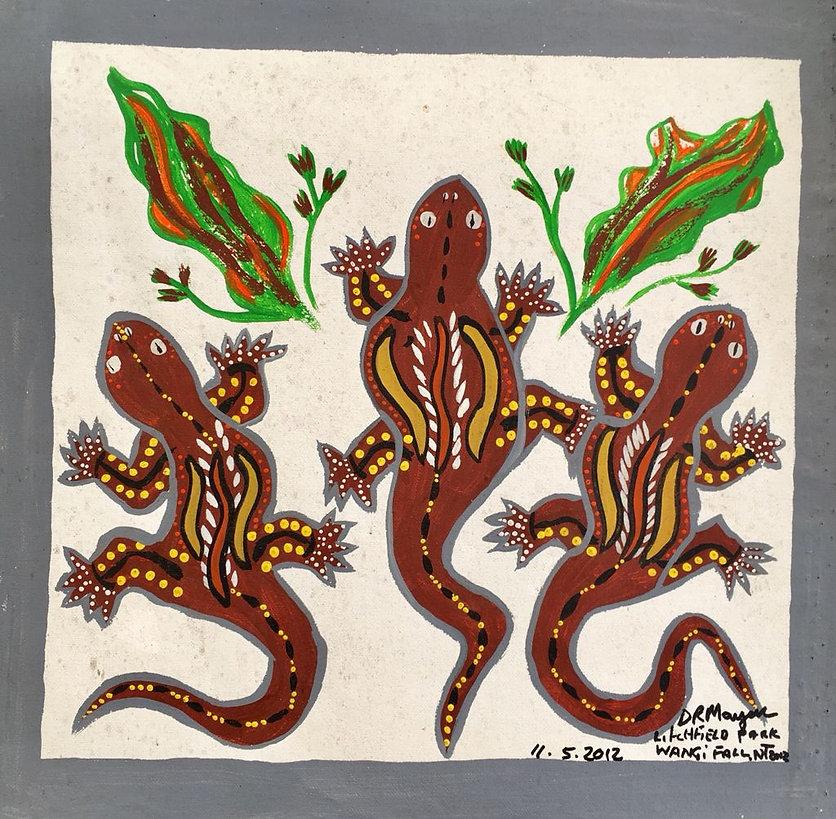 Daisy Marjar - Geckos