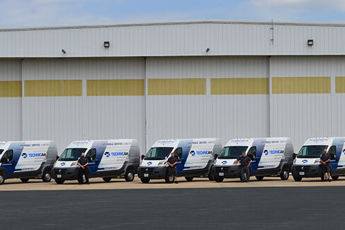 Signature TECHNICAir adds Mobile Service Units at Chicago Midway and St. Paul Downtown Airports