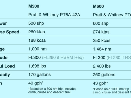 M500 / M600 - Spotting the Differences