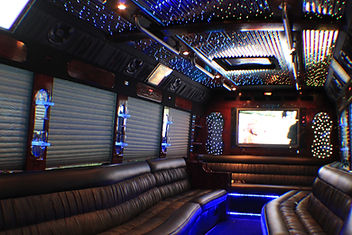 Limo Party Bus inside picture