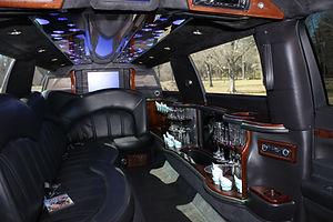 MKT limousine - inside