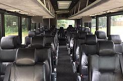 35 Passenger Charter Bus - Inside