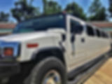 Super Stretch Hummer Limousine outside picture